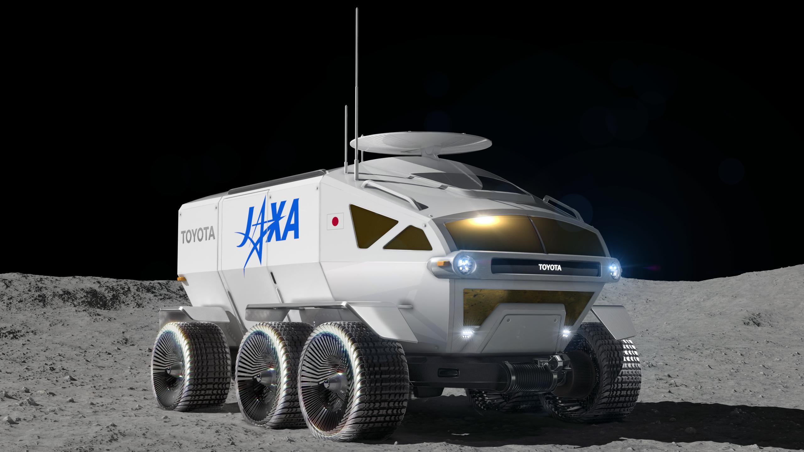 japan lunar rover toyota