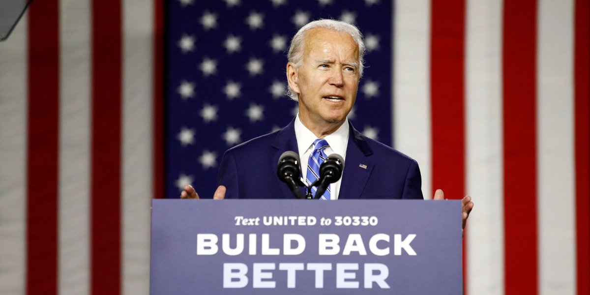 Biden steps up his clean energy plan, in a nod to climate activists