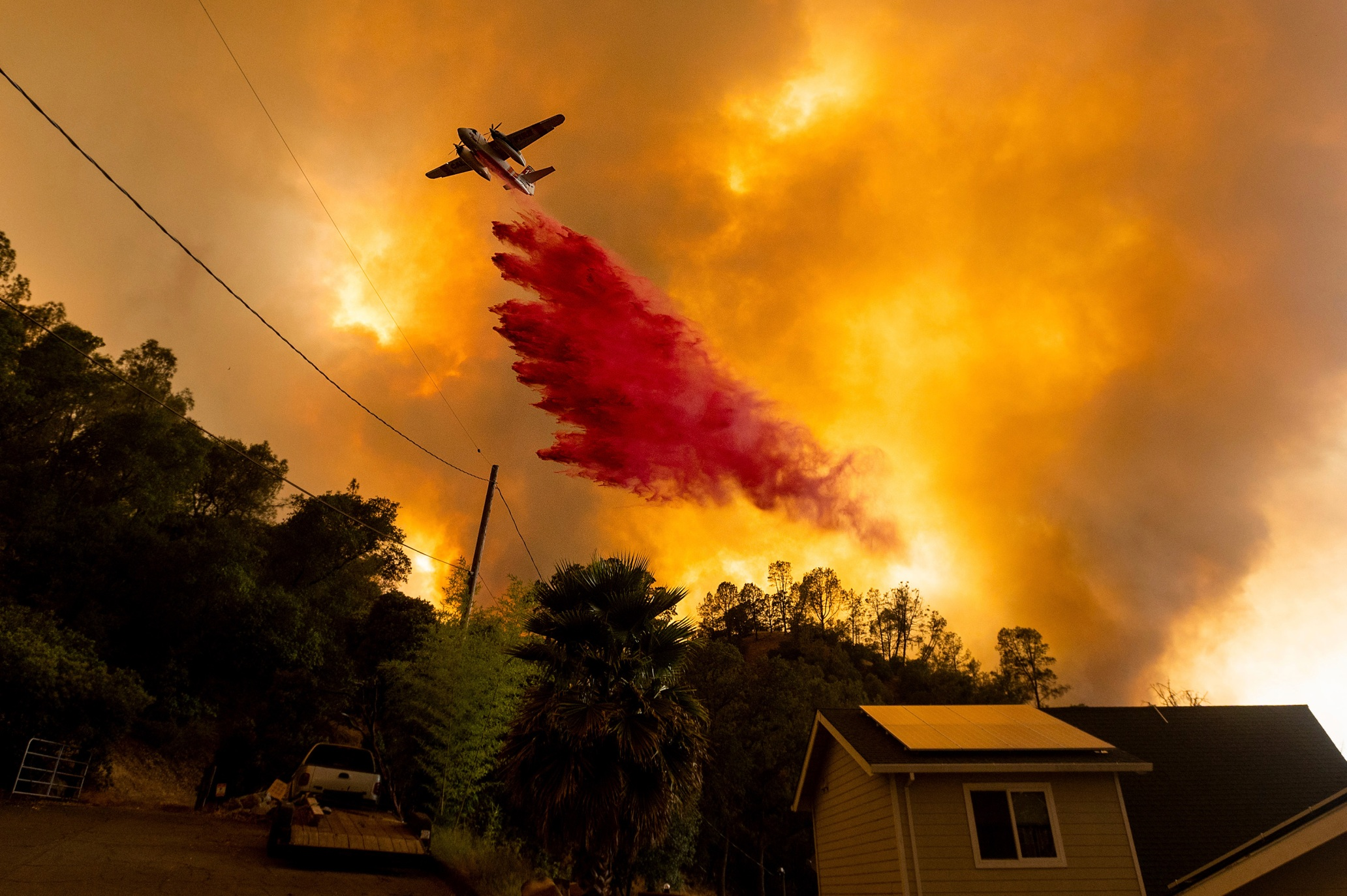 Yes, climate change is almost certainly fueling California's massive fires
