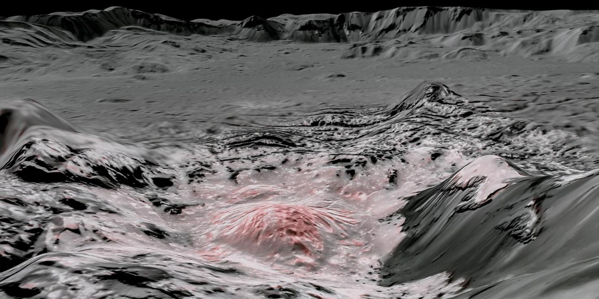 The dwarf planet Ceres might be home to an underground ocean of water