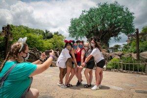 Disney World guests