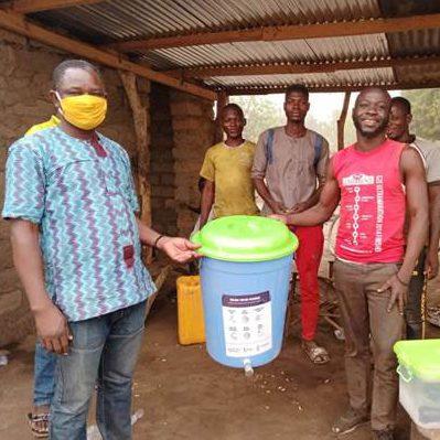 Veronica buckets in Ghana