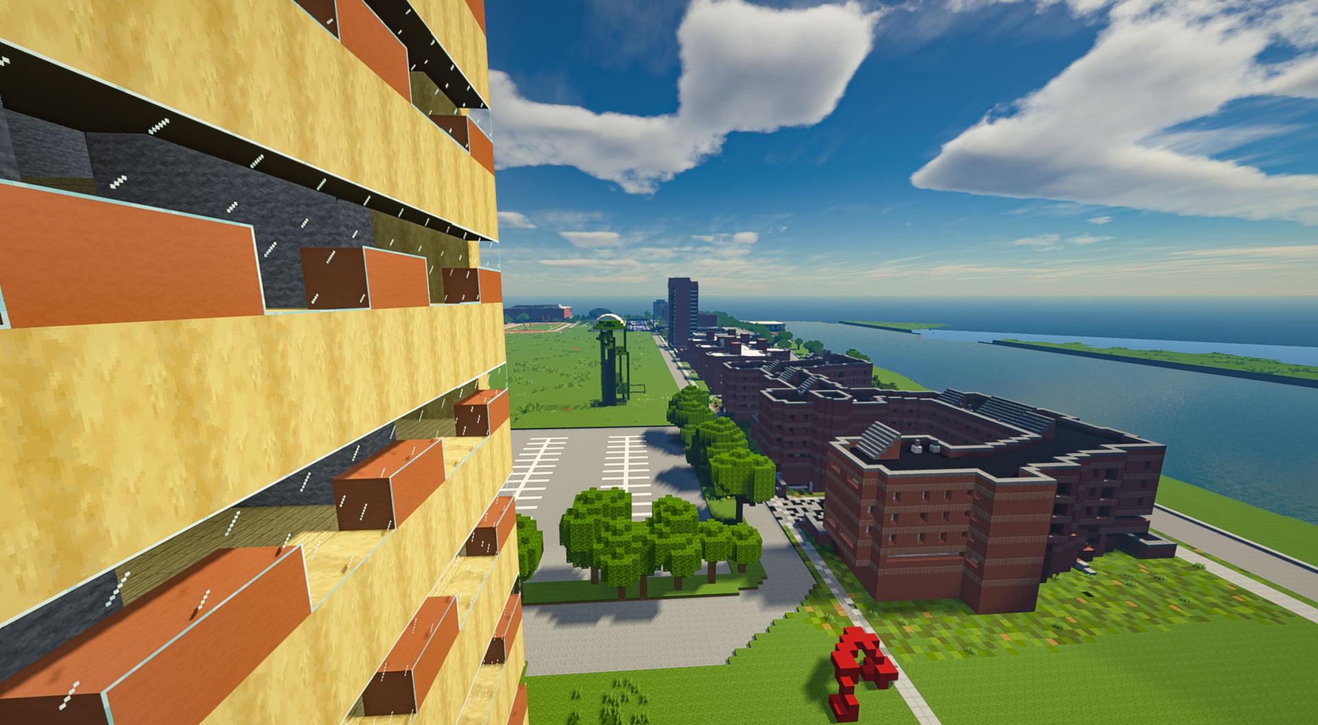 minecraft campus view