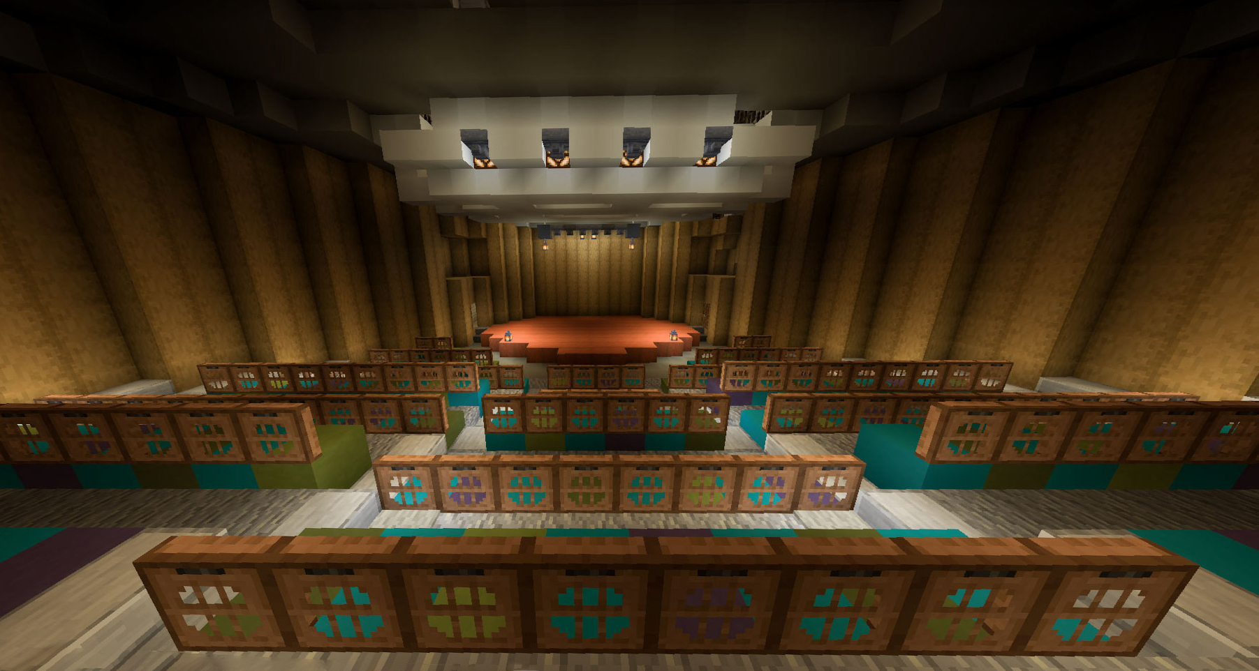 minecraft Kresge chapel