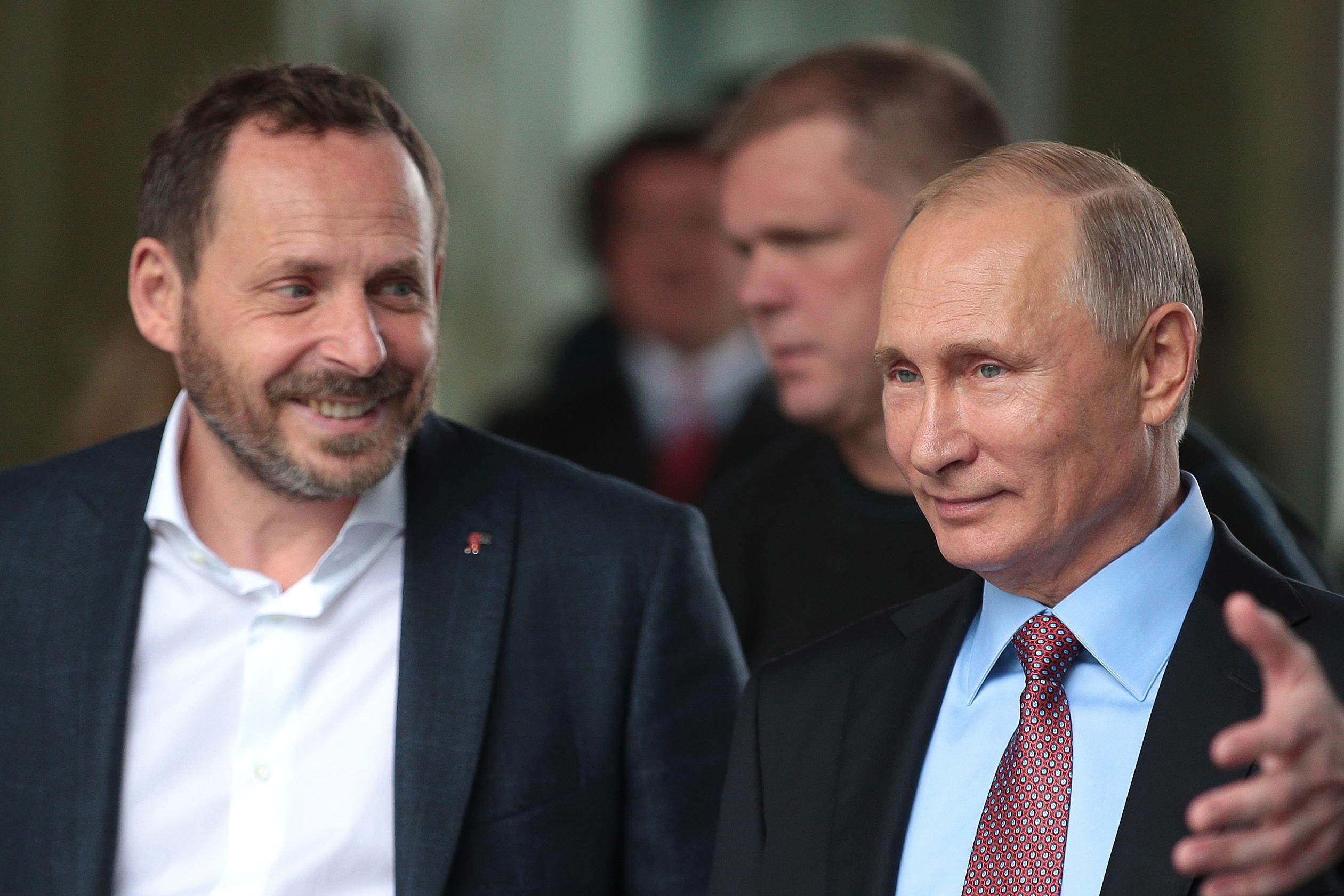 Volozh and Putin