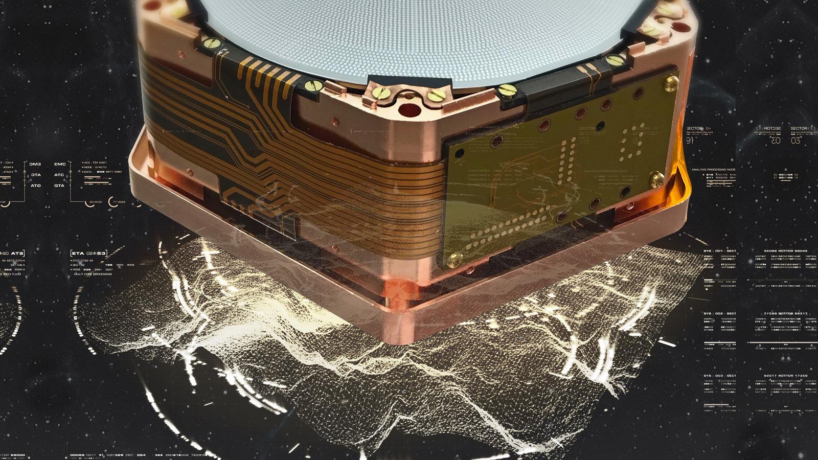 quantum computing cosmic rays