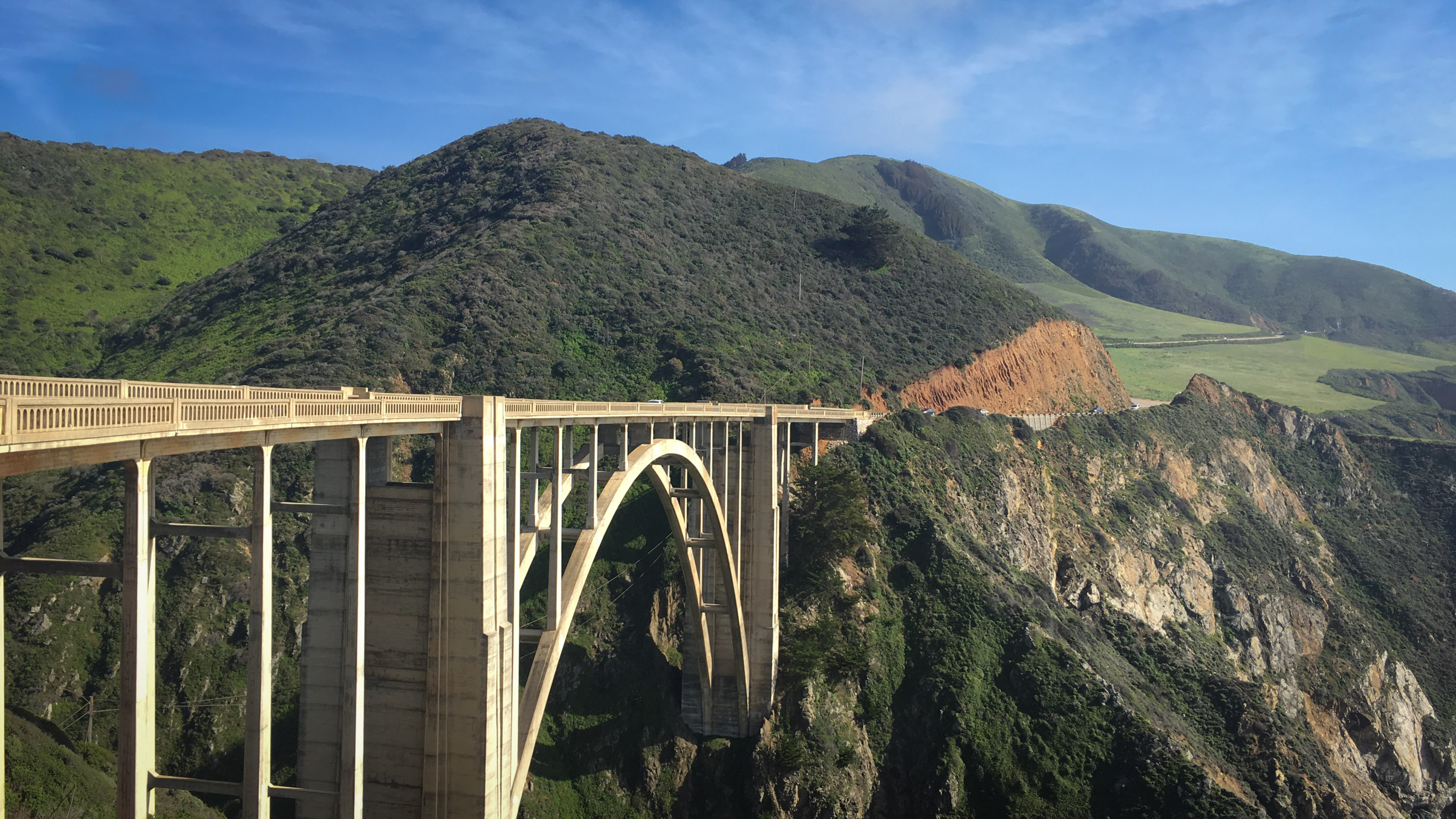 The Bixby Creek Bridge along California's Central Coast.
