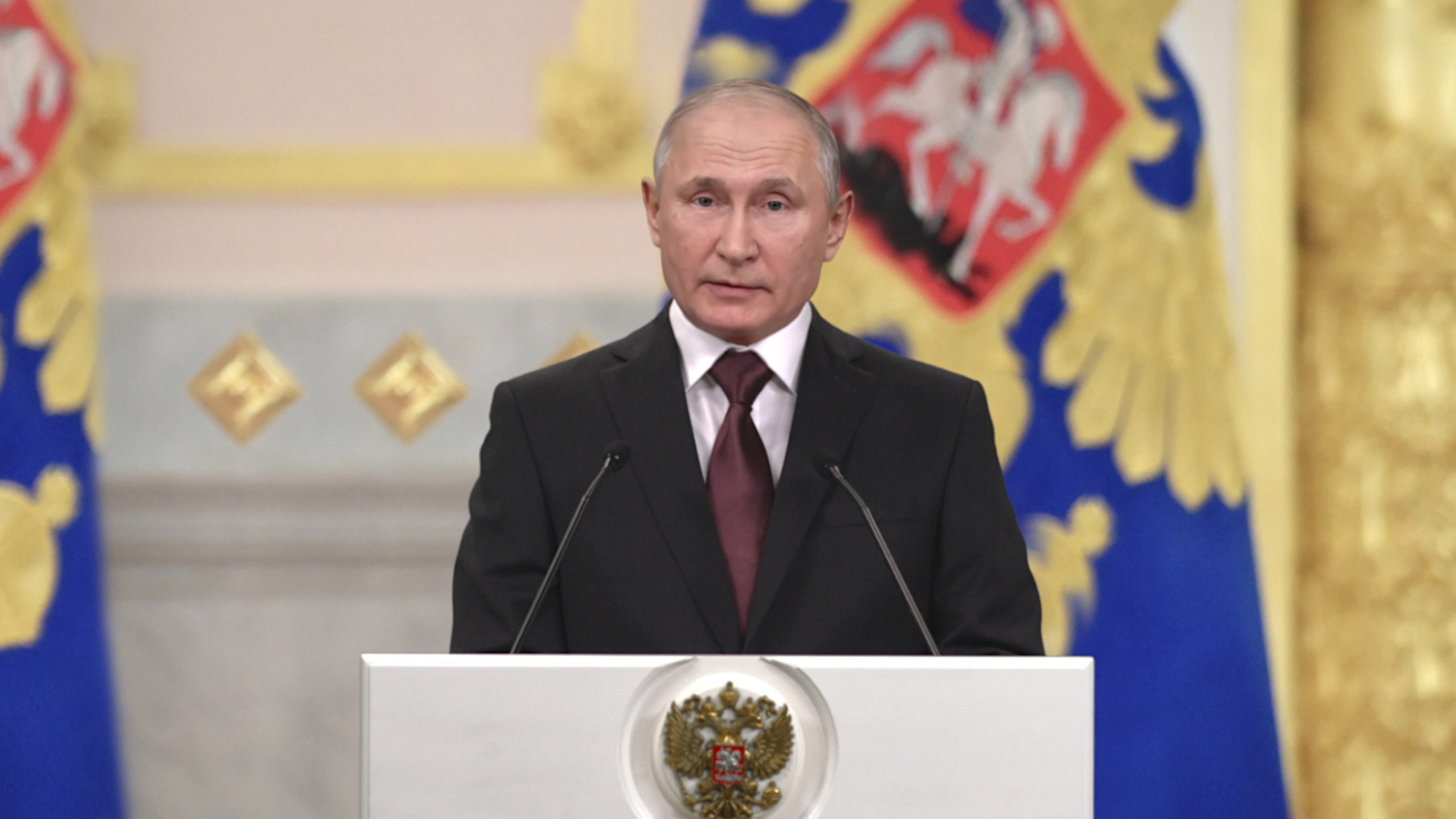 Deepfake Putin Is Here To Warn Americans About Their Self Inflicted Doom Mit Technology Review