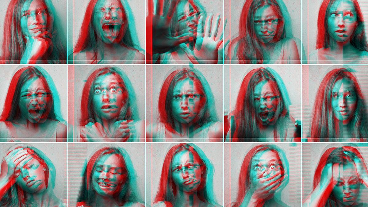 A kaleidoscope of emotions