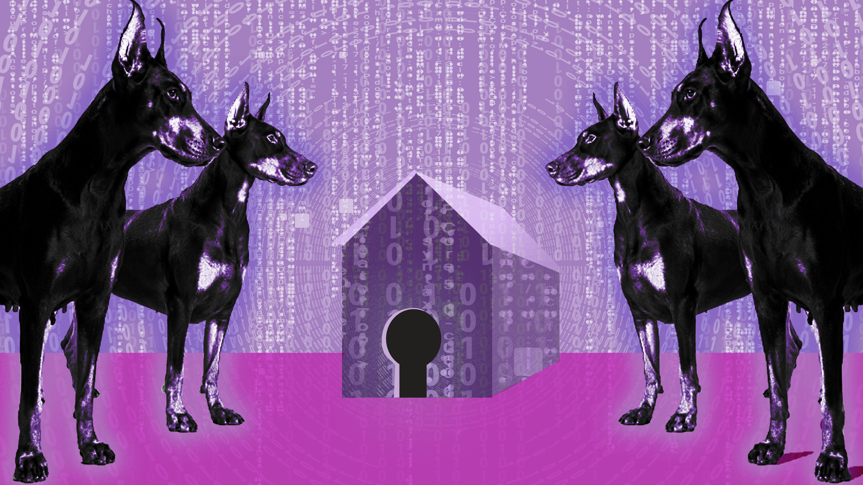 guard dogs watch over our data