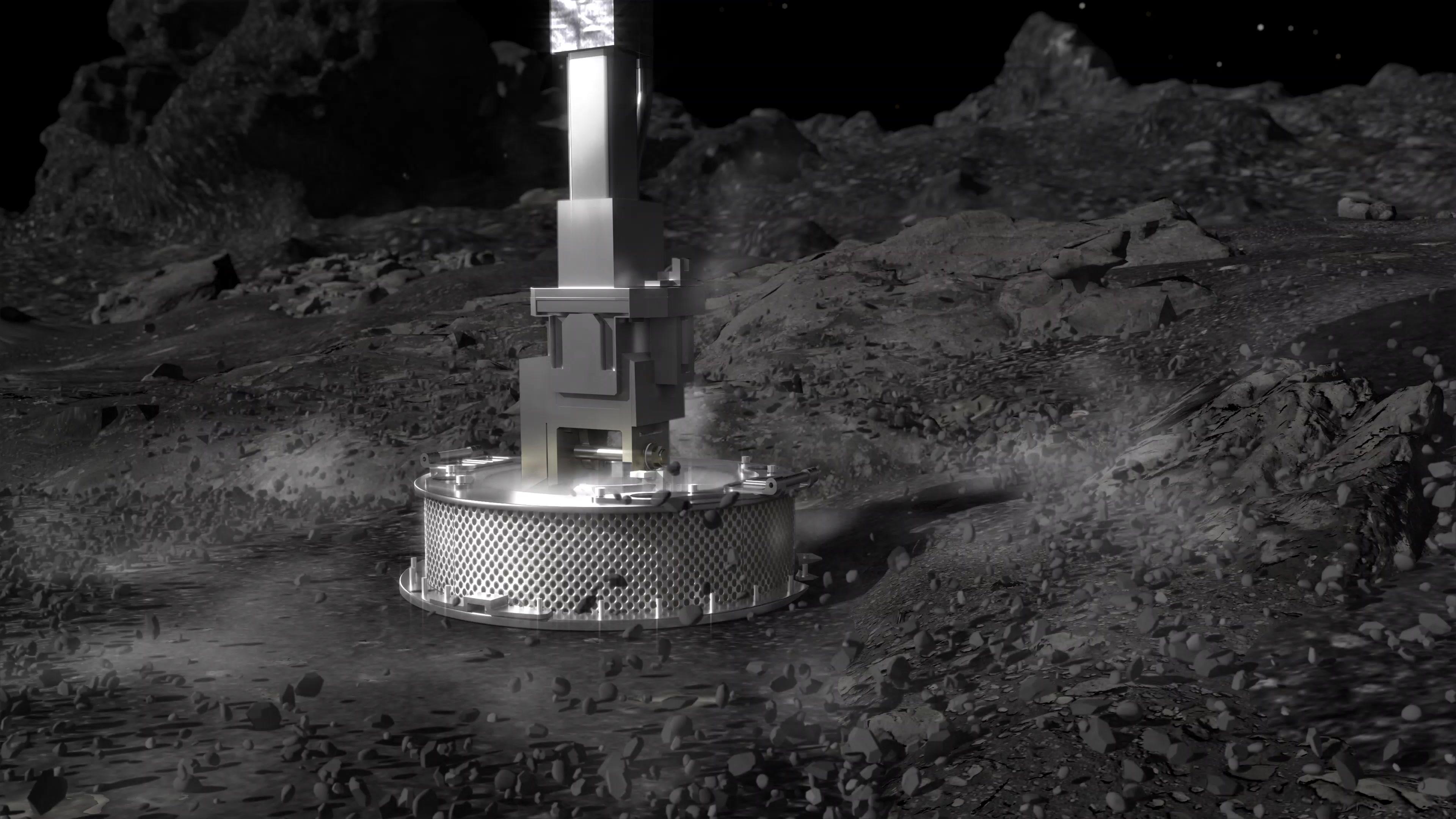 osiris rex asteroid bennu sample collection