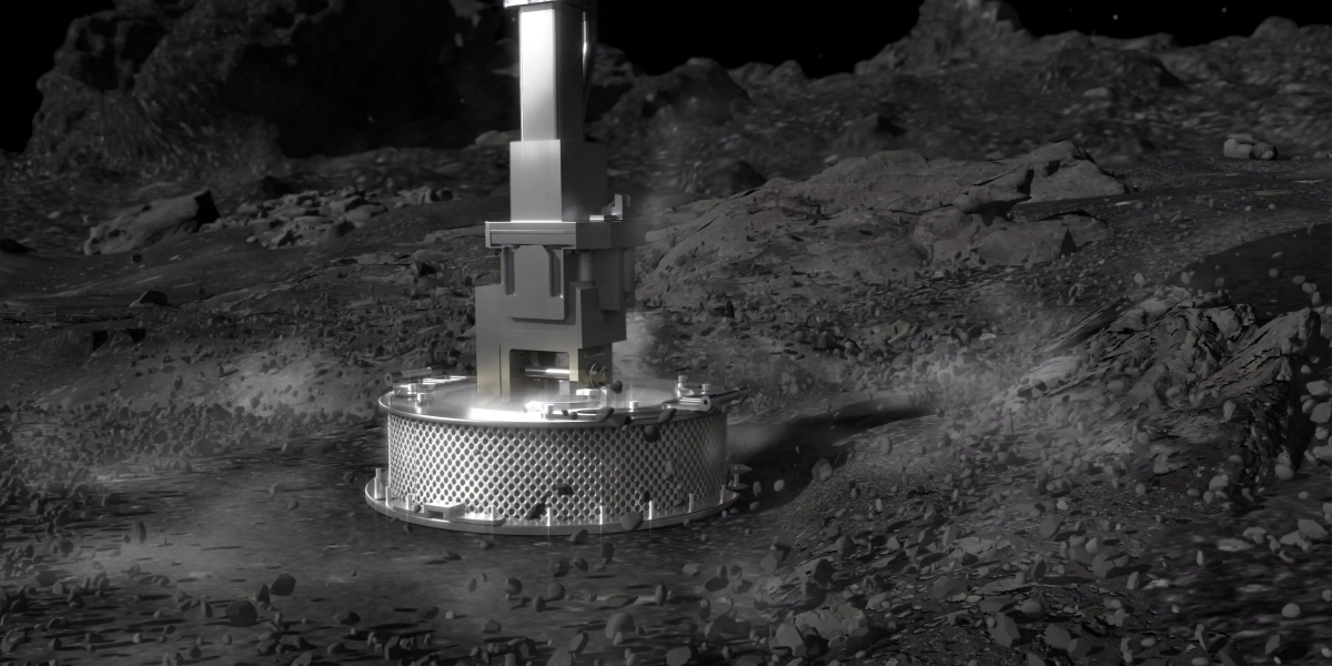 OSIRIS-REx survived its touchdown on asteroid Bennu—now we wait to see if it got a sample