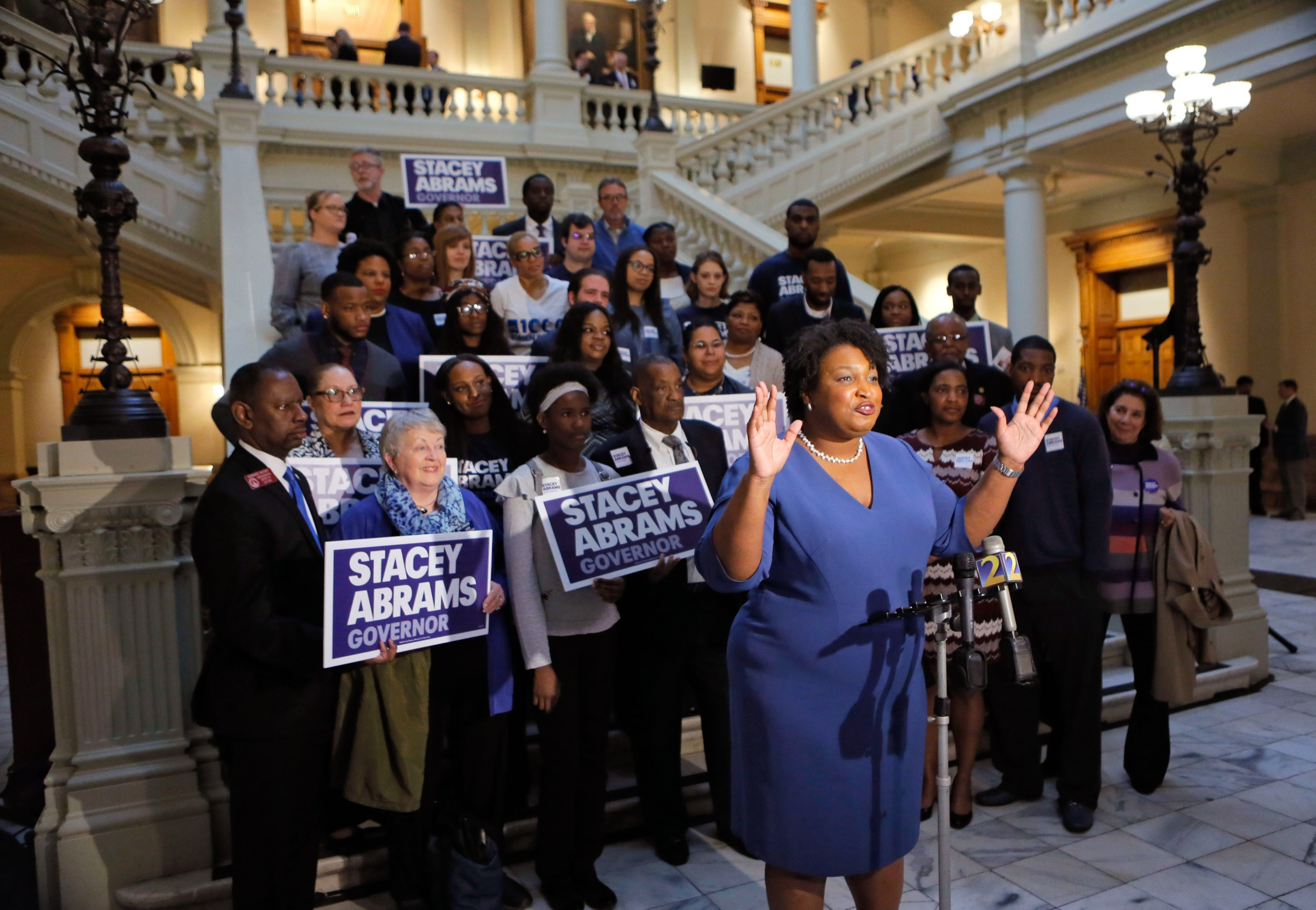 Stacy Abrams runs for governor of GA