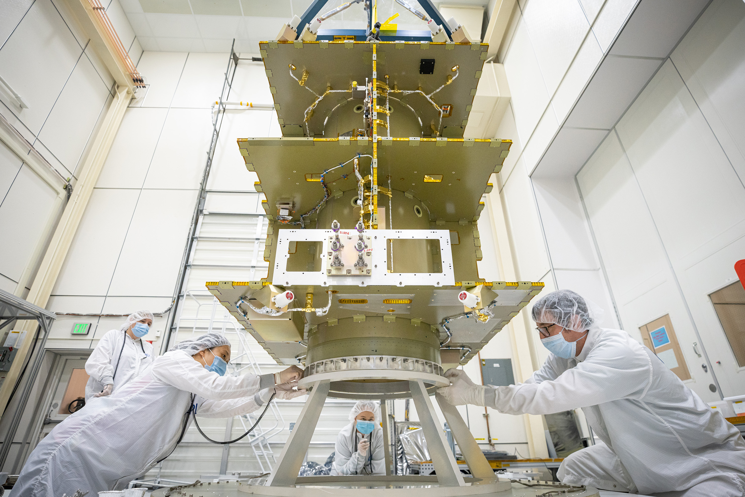 APL receives DART spacecraft structure