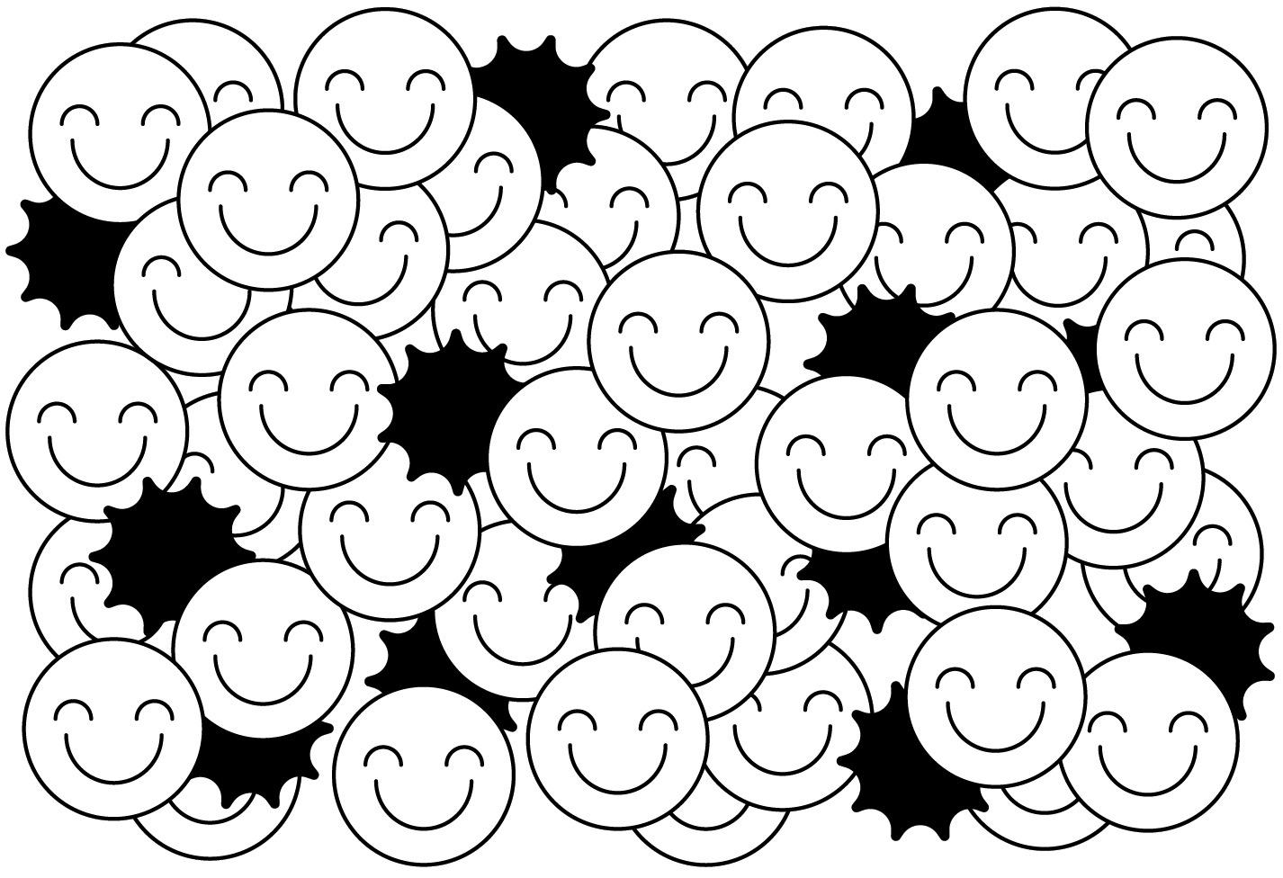 happiness illo