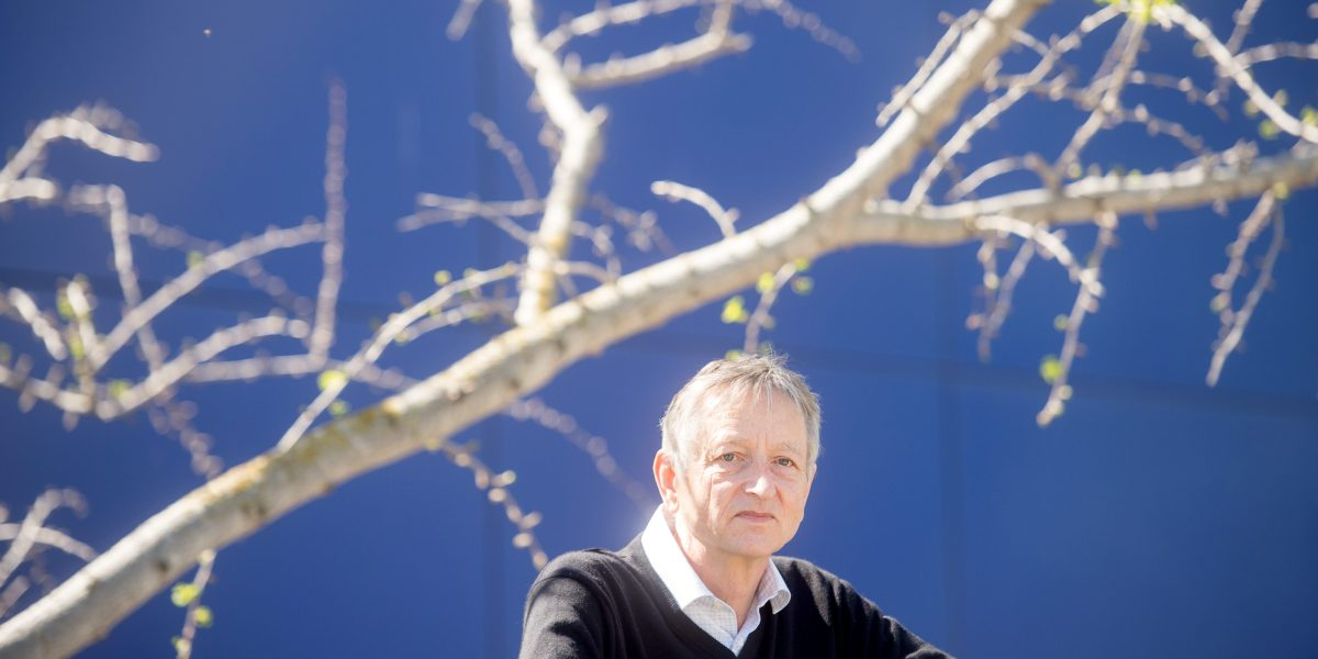 "AI pioneer Geoff Hinton: ""Deep learning is going to be able to do everything"""