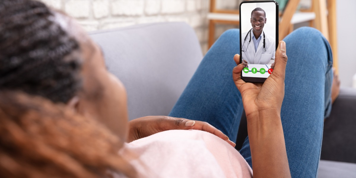 Pregnant in the pandemic? Good wifi helps. Women are accessing doctors online for prenatal care during covid-19.