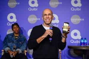 Quibi founder Jeffrey Katzenberg