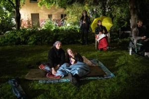 coronavirus projected outdoor movies
