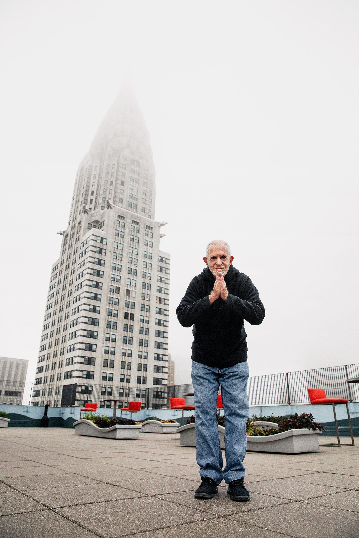 Steve Gorad on roof