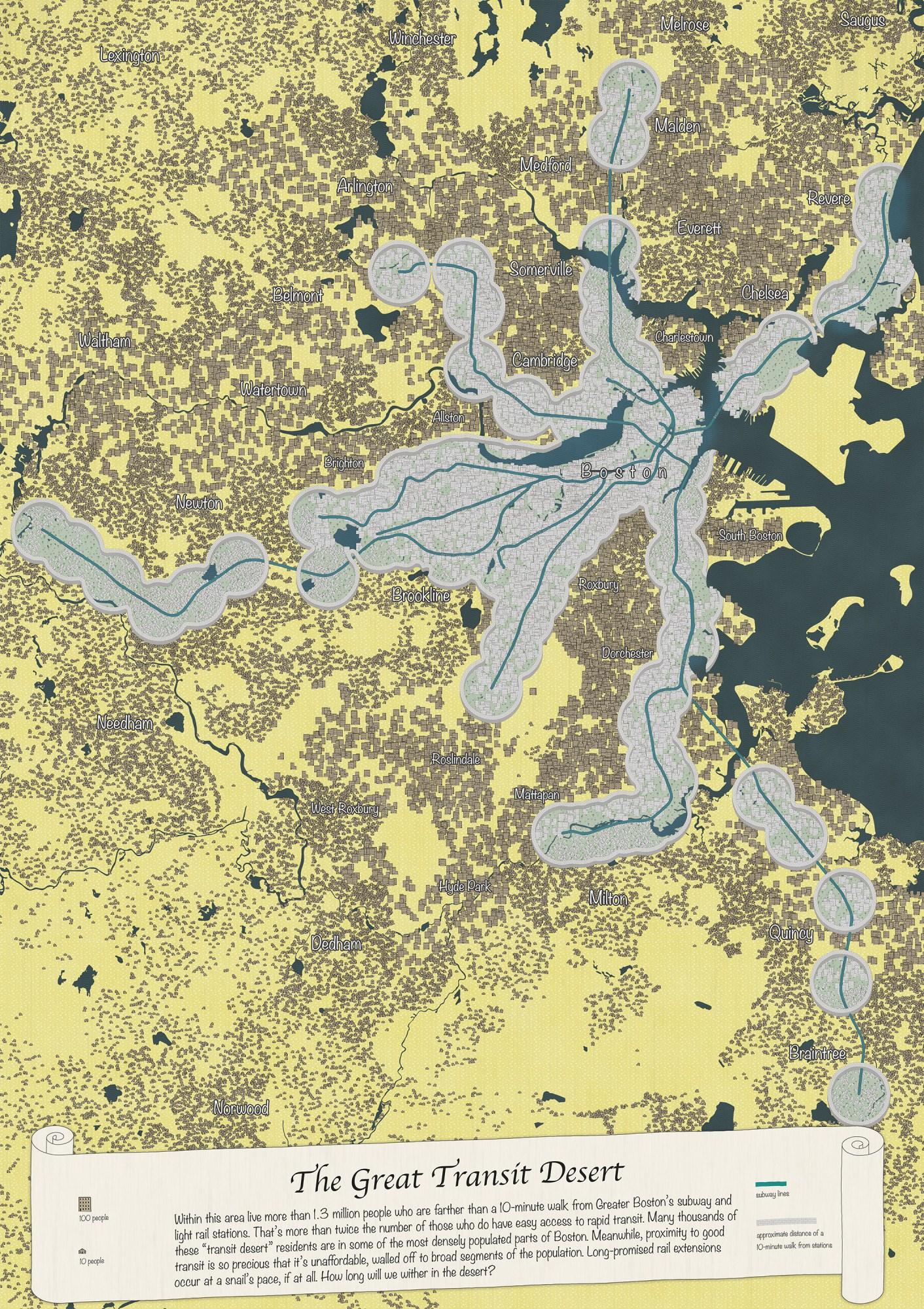 great transit desert map