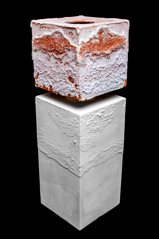 salt and ceramic sculpture