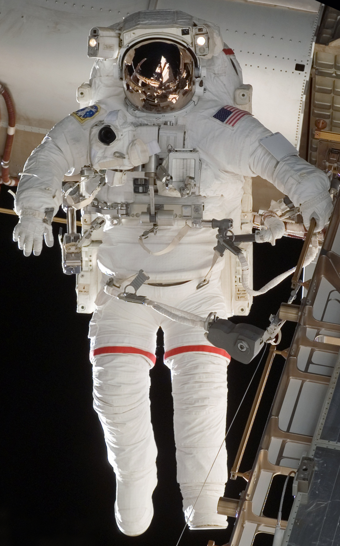 nasa space shuttle emu spacewalk