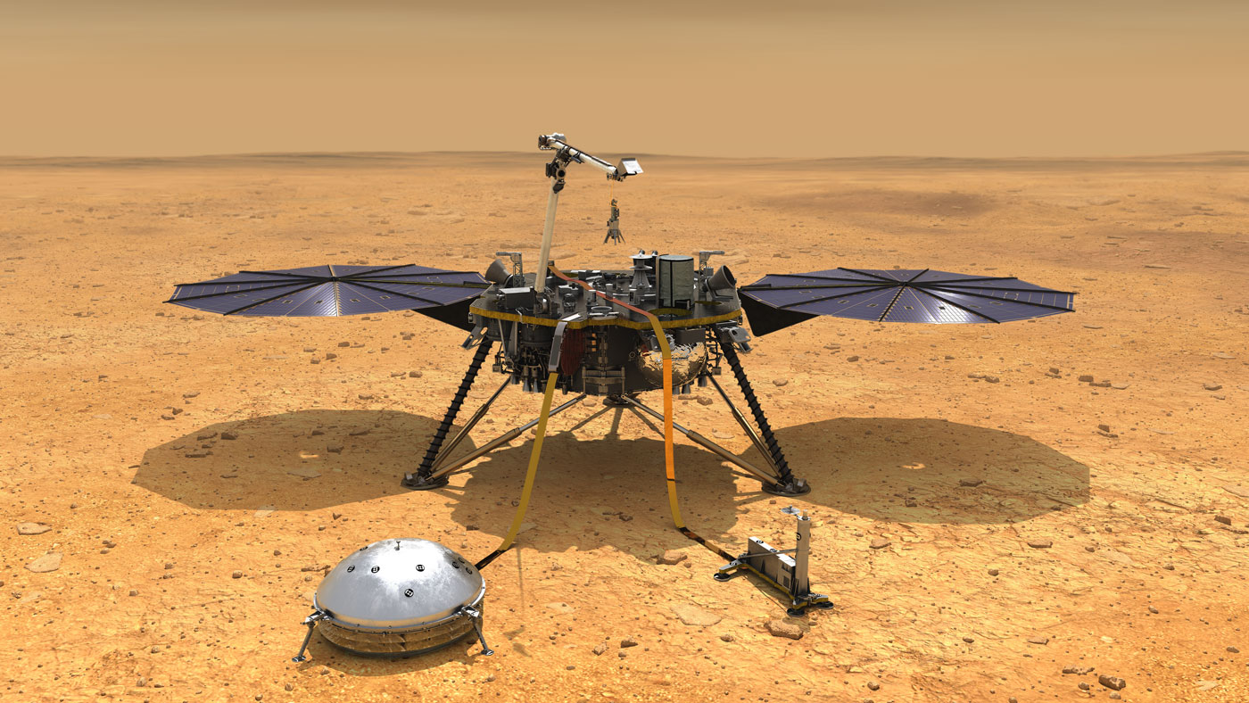 nasa mars insight lander
