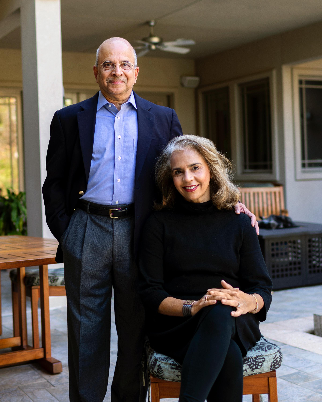 Shashank, OE '81, and Medha Karve