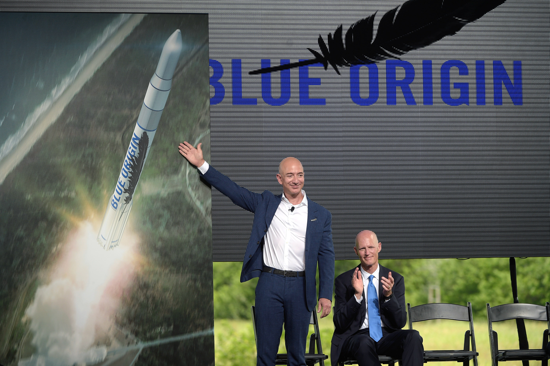 Jeff Bezos Blue Origin conference FL