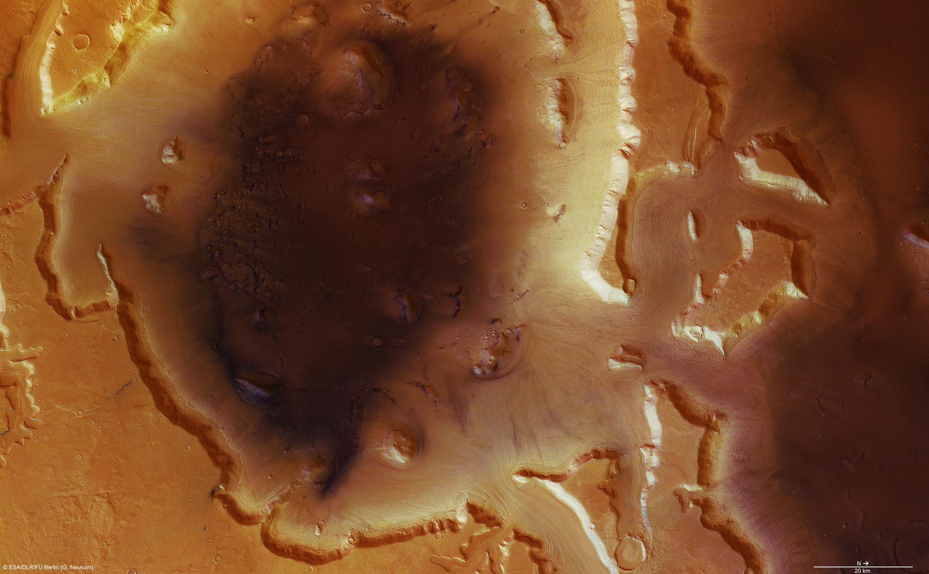 Deuteronilus Mensae Mars