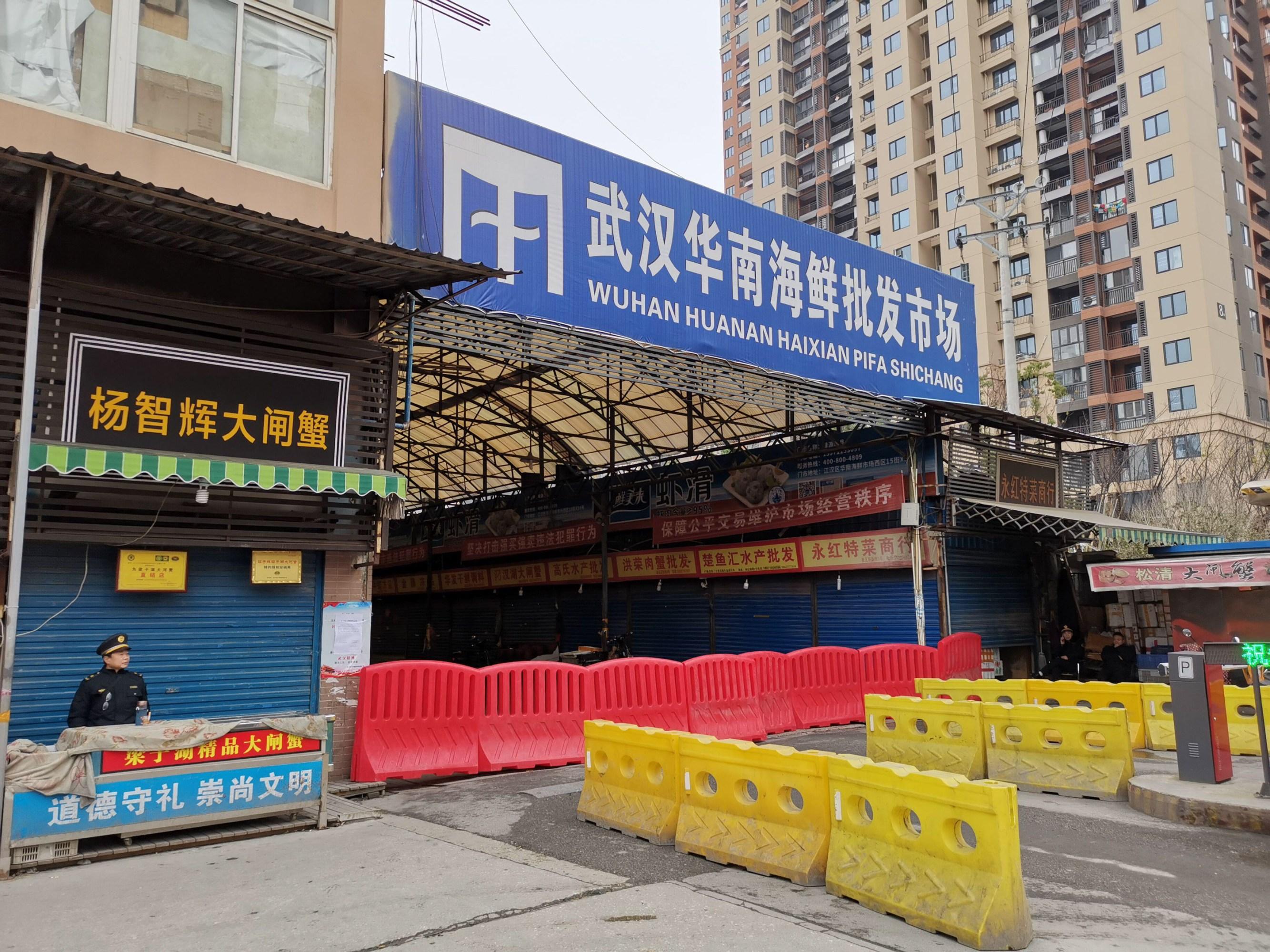Mercado de Huanan en Wuhan