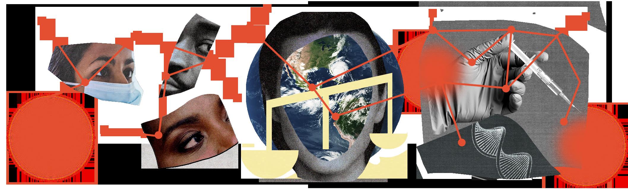 conceptual collage illustration