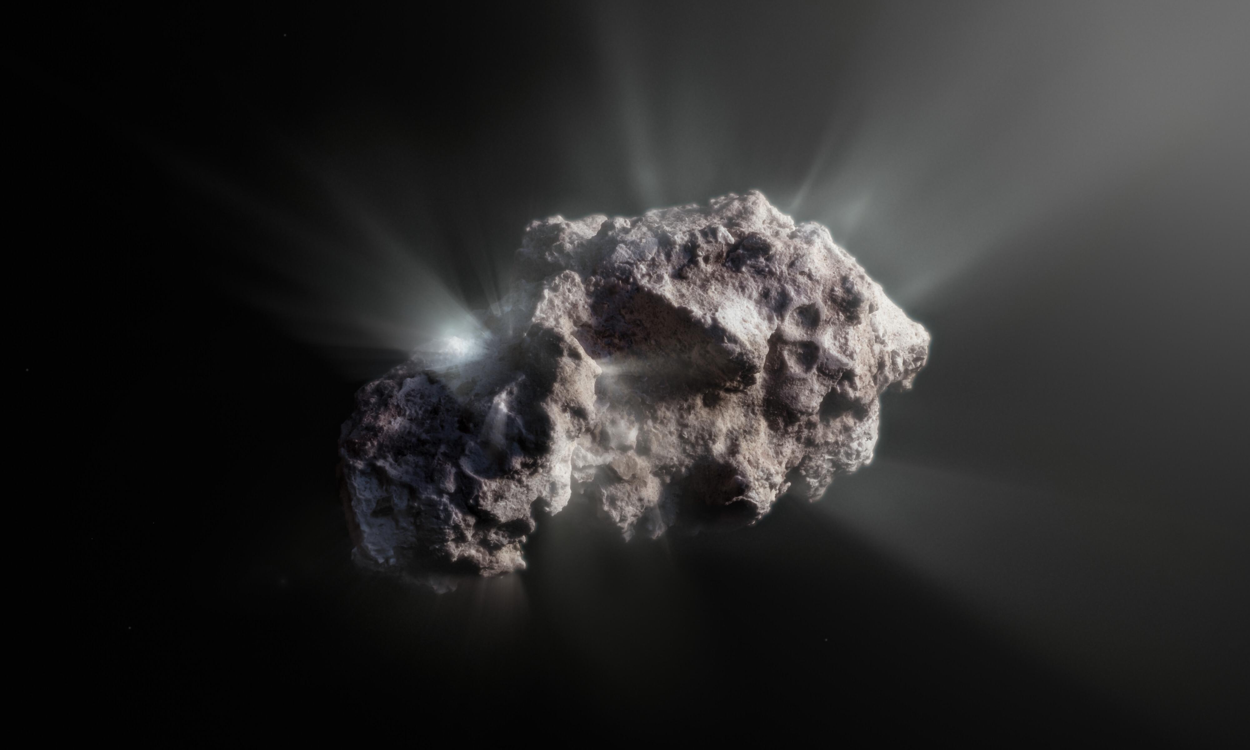 comet 2I/borisov interstellar prestine
