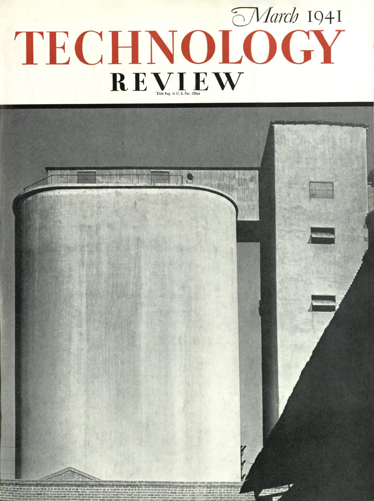 Portada de marzo de 1941