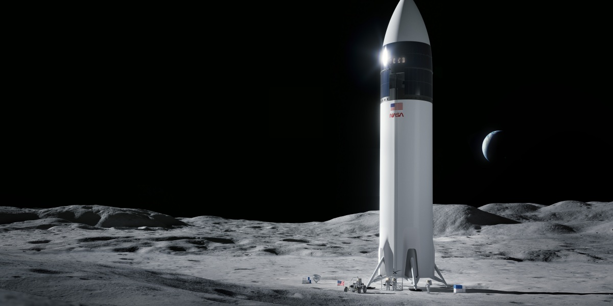 NASA has selected SpaceX's Starship as the lander to take astronauts to the moon