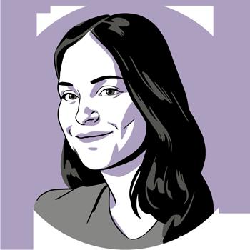 illustration of Siobhan Roberts