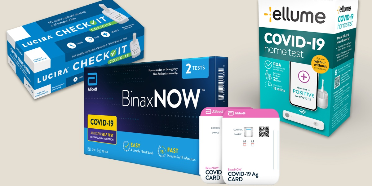 We reviewed three at-home covid tests. The results were mixed.