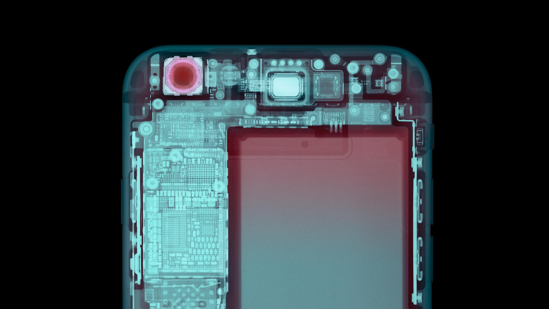 Smart phone, X-ray.
