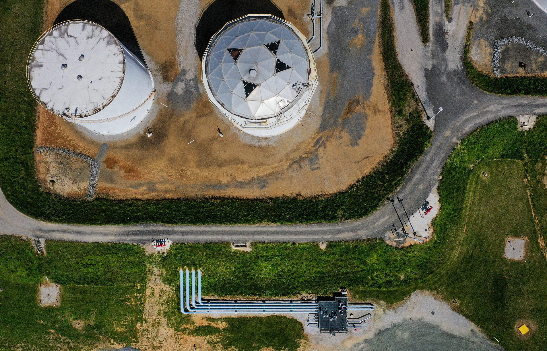 Colonial Pipeline tanks