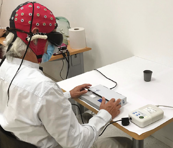A blind man can make out objects again after an optogenetics treatment