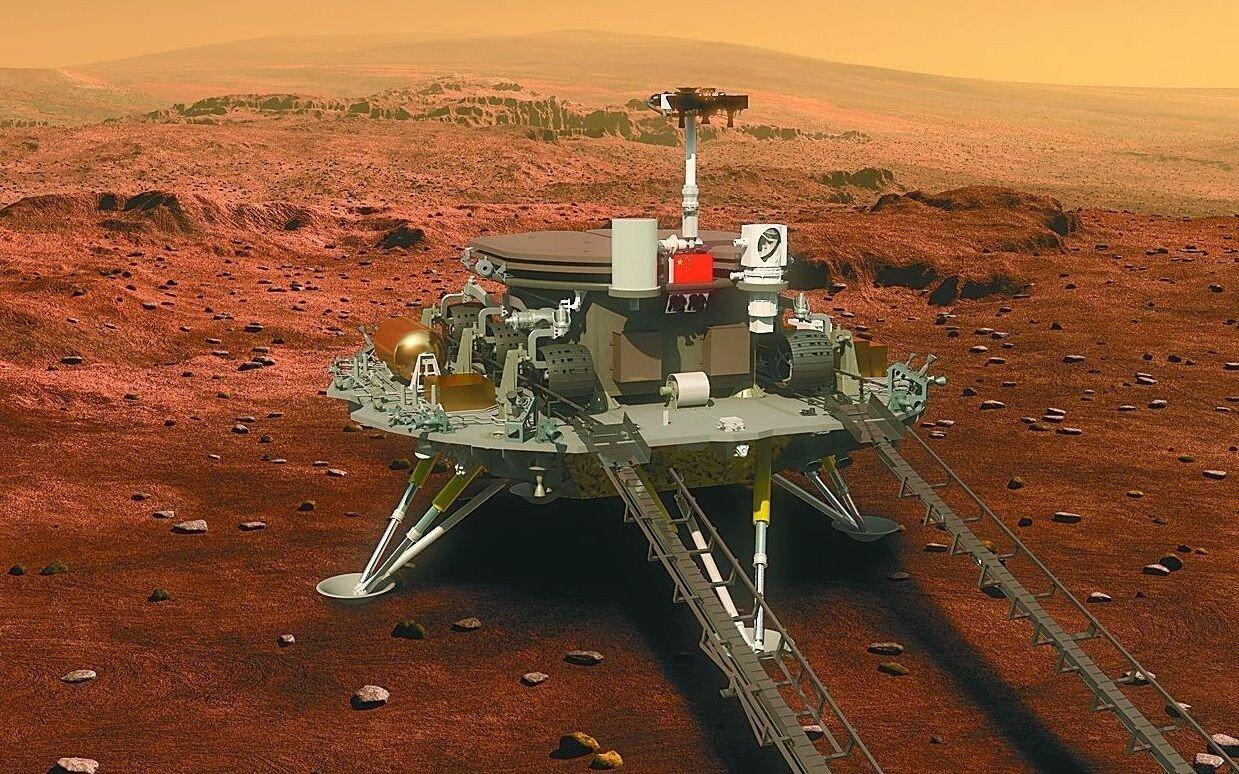 china zhurong rover