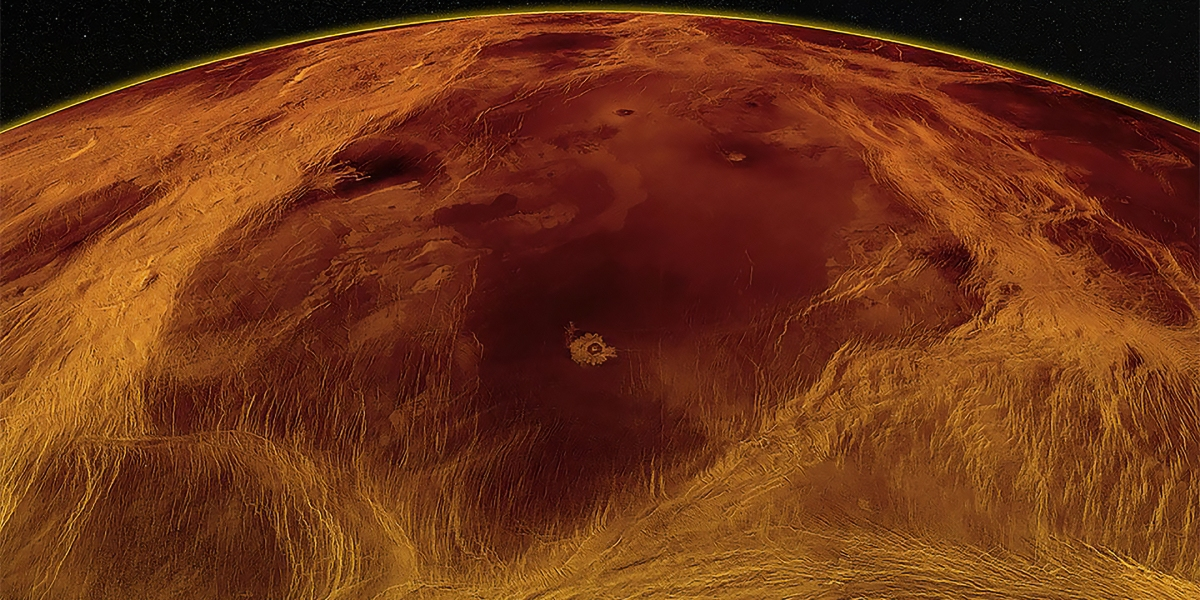 Scientists were able to observe tectonic activity inside Venus
