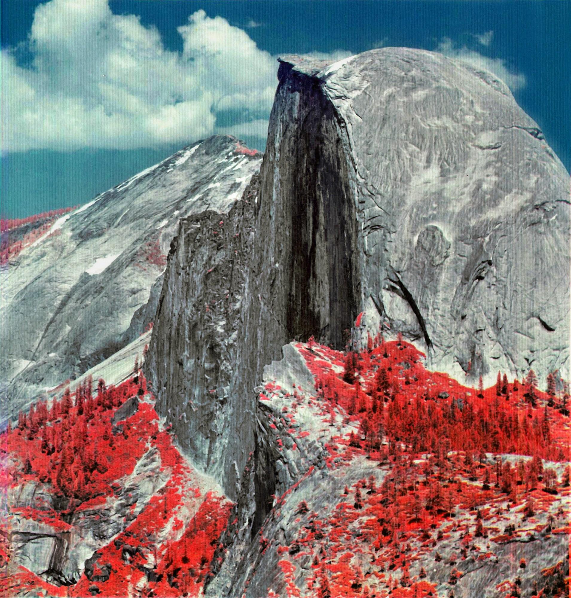MSS image of Half Dome