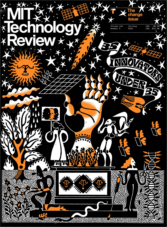 Image of print magazine cover