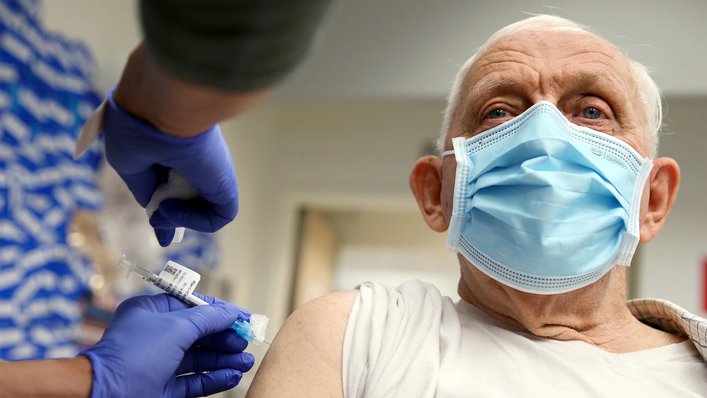 Pfizer vaccine in California