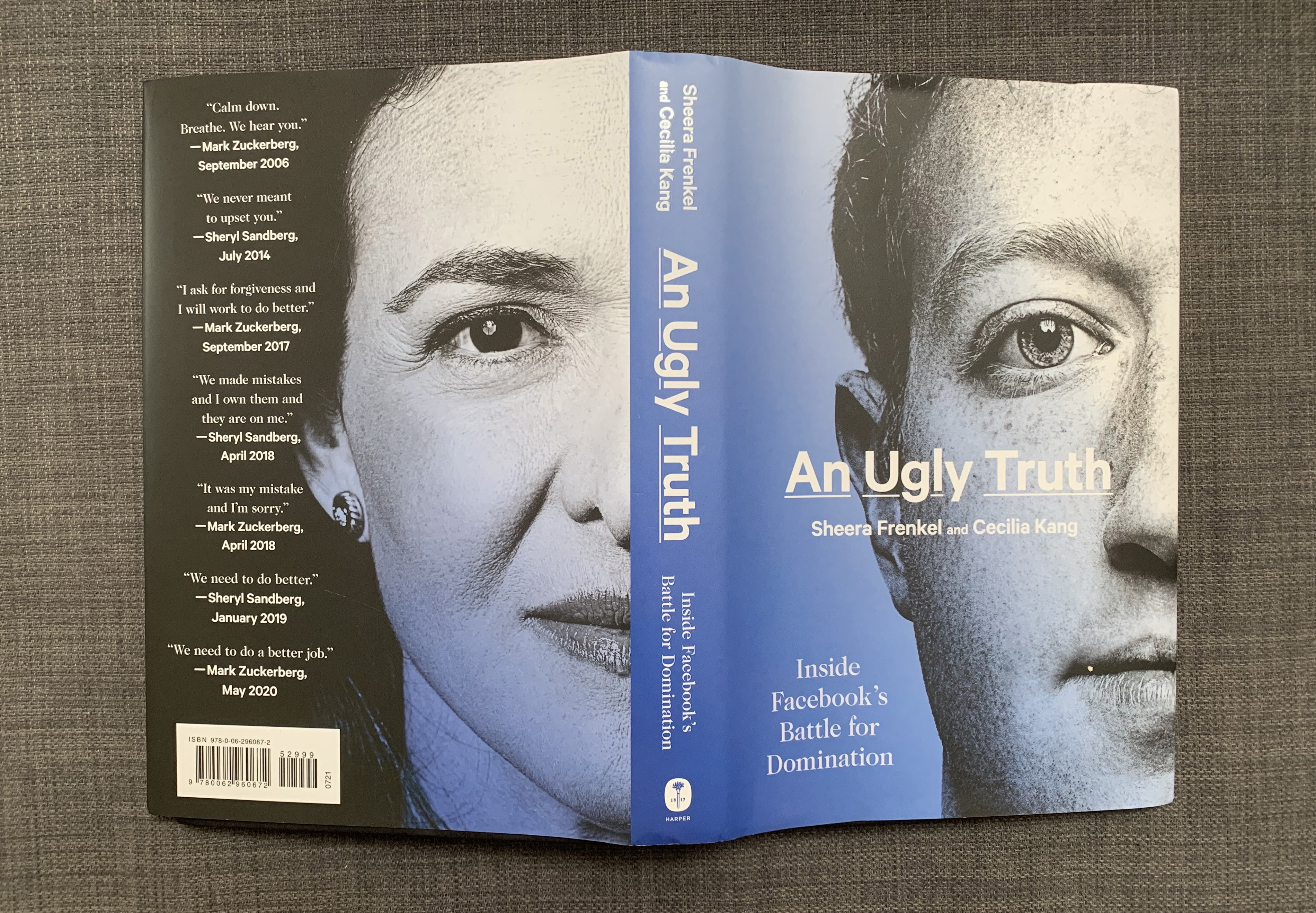 Ugly Truth book splayed out