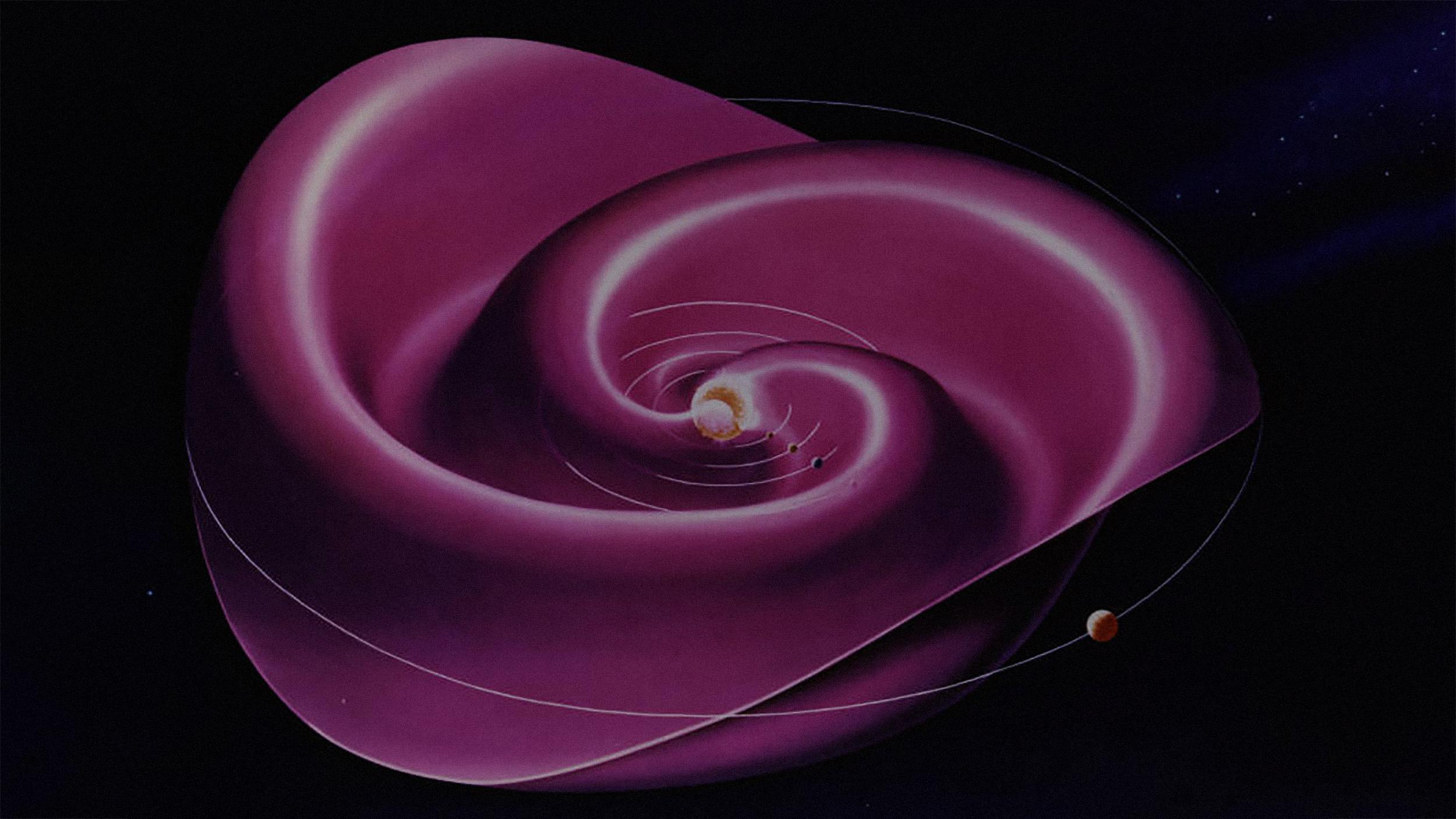 heliospheric sheet concept illo