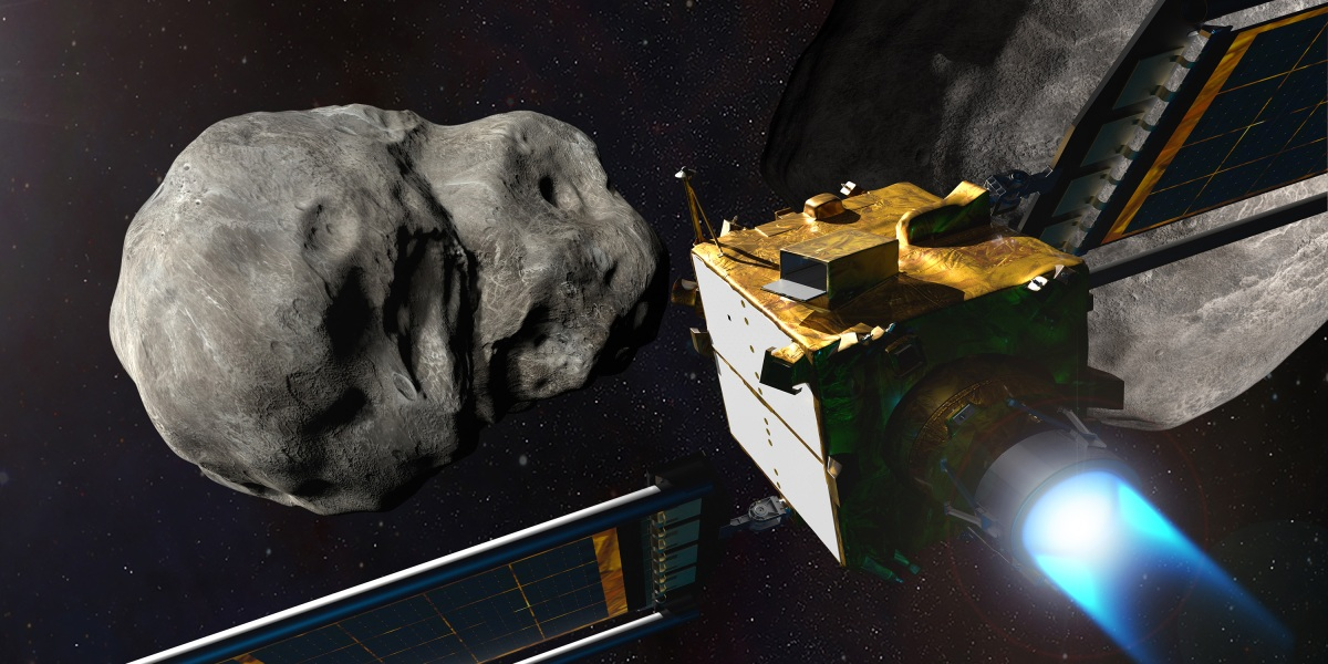 NASA is going to slam a spacecraft into an asteroid. Things might get chaotic.