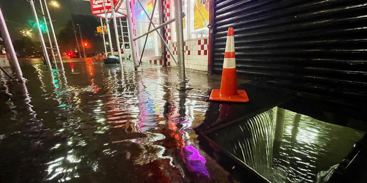 How Ida dodged NYC's flood defenses
